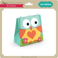 Owl Favor Box 3