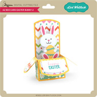 A2 Box Card Easter Bunny 2