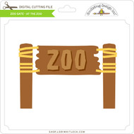 Zoo Gate - At The Zoo