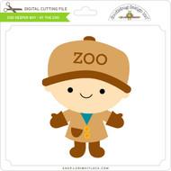 Zoo Keeper Boy - At The Zoo
