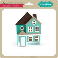 A2 Shaped Box Card House