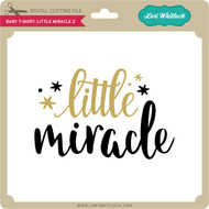 Baby T-Shirt Little Miracle 2