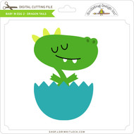 Baby in Egg 2 - Dragon Tails