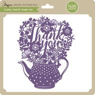 Floral Teapot Thank You