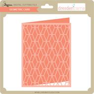 Geometric Card 2