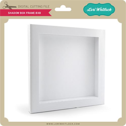 Shadowbox Frame 8x8 - Lori Whitlock\'s SVG Shop