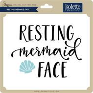 Resting Mermaid Face