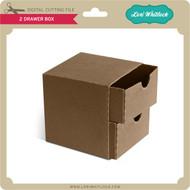 2 Drawer Box