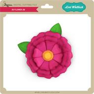 3D Flower 28