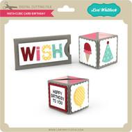 Insta-Cube Card Birthday