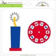 Firecracker Wheel - Yankee Doodle