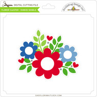 Flower Cluster - Yankee Doodle