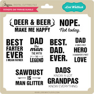 Father's Day Phrase Bundle