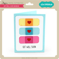 Get Well Card Bandaid