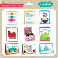 Awesome Get Well Card Bundle
