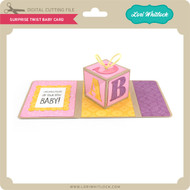 Surprise Twist Baby Card