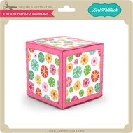 2 on 12x12 Perfectly Square Box