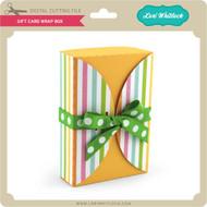 Gift Card Wrap Box