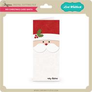 #10 Christmas Card Santa