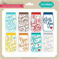 Mason Jar Phrases Bundle