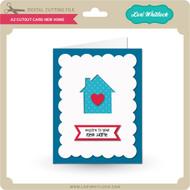 A2 Cutout Card New Home
