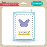 A2 Cutout Card Sympathy