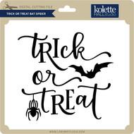 Trick or Treat Bat Spider