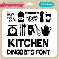 Kitchen Dingbats Font