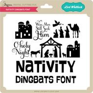 Nativity Dingbats Font
