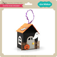 Haunted House Ornament