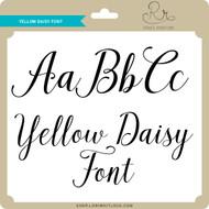 Yellow Daisy Font