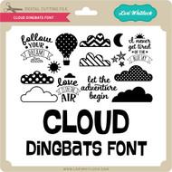 Cloud Dingbats Font