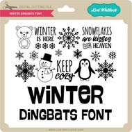 Winter Dingbats Font