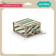 1 Compartment Tie Gift Box