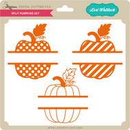 Split Pumpkins Set