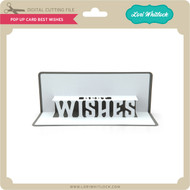 Pop Up Card Best Wishes