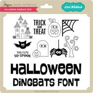 Halloween Dingbats Font