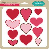 11 Nested Hearts