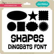 Shape Dingbats Font