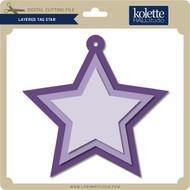 Layered Tag Star