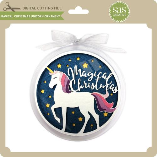 magical christmas unicorn ornament 299 image 1 - Christmas Unicorn