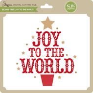 Scandi Tree Joy to the World