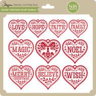 Scandi Christmas Heart Bundle