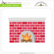Milk & Cookies - Fireplace