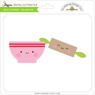 Milk & Cookies - Rolling Pin