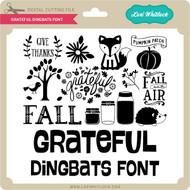 Grateful Dingbats Font