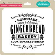 Homemade Gingerbread Bakery