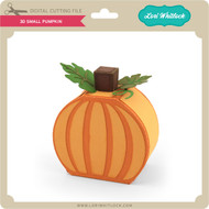 3D Small Pumpkin
