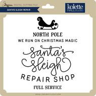 Santa's Sleigh Repair