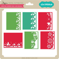 Christmas Border Edge Card Bundle